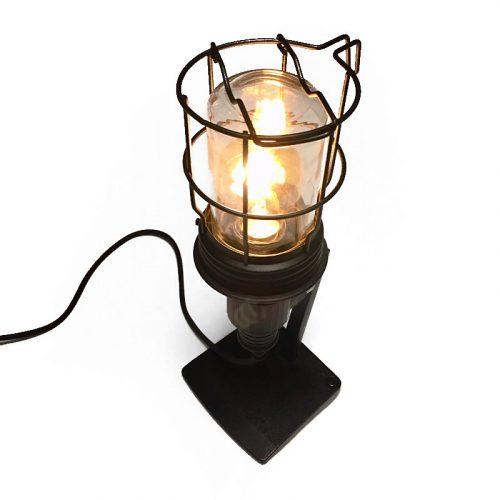 koper tafel lamp, retro geschenk